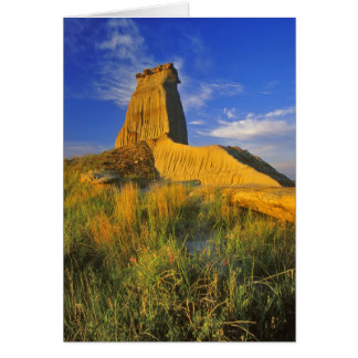 Eroded Monument in the Little Missouri Card