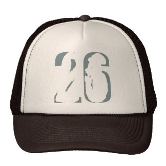 Eroded Number 26 Cap