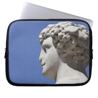 eroded statue outside the Palazzo Vecchio in Laptop Sleeve