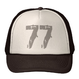Eroded Style Number 77 Cap