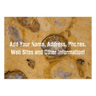 Eroded Surface Mineral Macro Pack Of Chubby Business Cards