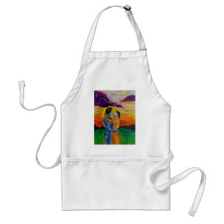 Eros and Psyche at sunset Standard Apron