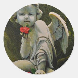 Eros Classic Round Sticker