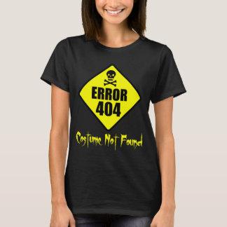 Error 404 Costume Not Found Halloween T-Shirt