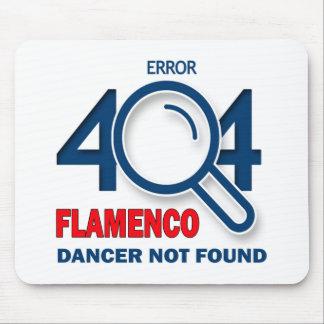 Error 404 Flamenco dancer not found Mouse Pad
