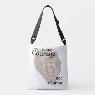 Error on the side of Courage Tote Bag