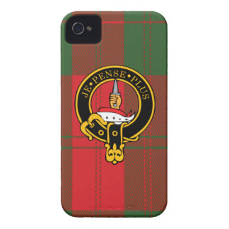 Erskine Scottish Crest and Tartan iPhone 4 case