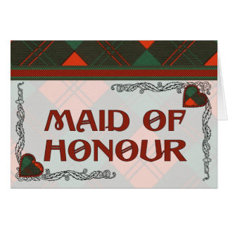 Erskine Scottish Tartan Card