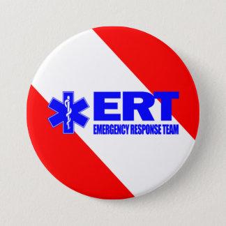 ERT -Emergency Response Team 7.5 Cm Round Badge