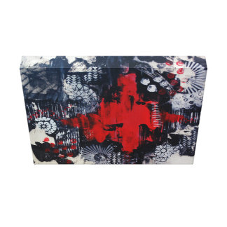 Eruption Canvas Print