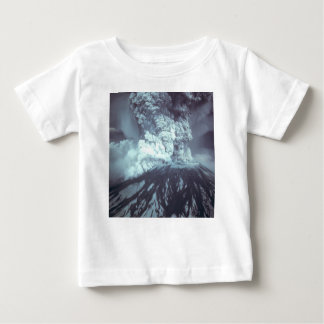 Eruption of Mount Saint Helens Stratovolcano 1980 Baby T-Shirt