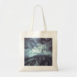 Eruption of Mount Saint Helens Stratovolcano 1980 Budget Tote Bag