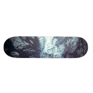 Eruption of Mount Saint Helens Stratovolcano 1980 Custom Skate Board