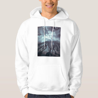 Eruption of Mount Saint Helens Stratovolcano 1980 Hooded Pullovers