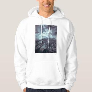 Eruption of Mount Saint Helens Stratovolcano 1980 Hoodie