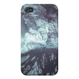 Eruption of Mount Saint Helens Stratovolcano 1980 iPhone 4/4S Cases