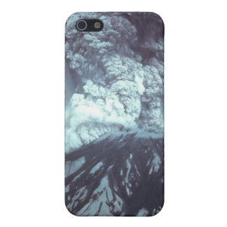 Eruption of Mount Saint Helens Stratovolcano 1980 iPhone 5 Case