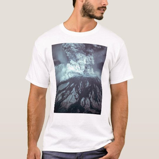 Eruption of Mount Saint Helens Stratovolcano 1980 T-Shirt