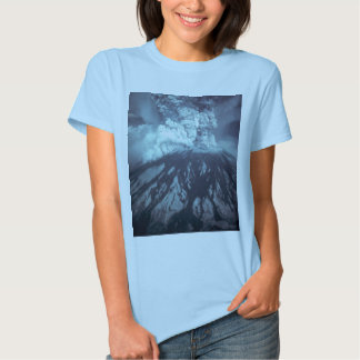 Eruption of Mount Saint Helens Stratovolcano 1980 Tee Shirts