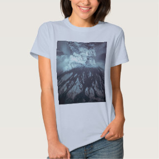 Eruption of Mount Saint Helens Stratovolcano 1980 Tee Shirts