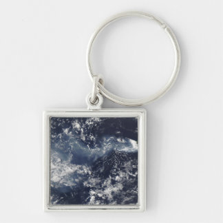 Eruption of Piton de la Fournaise, Reunion Isla Key Ring