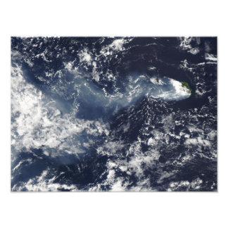 Eruption of Piton de la Fournaise, Reunion Isla Art Photo