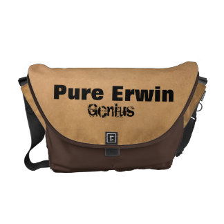 Erwin(Or Your Family) Genius Messenger Bag