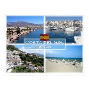 ES Costa del Sol - Nerja - Puerto Banus - Marbella Postcard