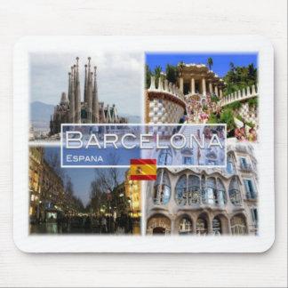 ES Espana - Spain - Barcelona - Sagrada Familia - Mouse Mat