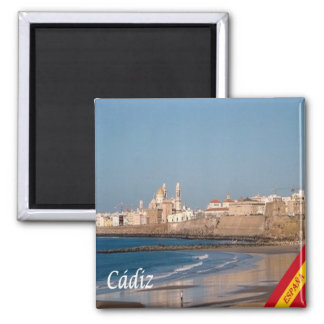 ES - Spain - Cadiz   Panorama Magnet