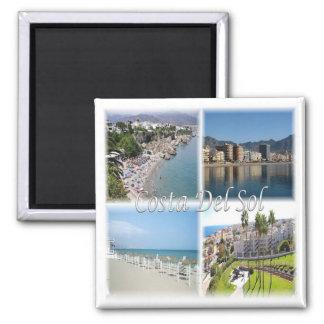 ES * Spain - Costa Del Sol Square Magnet