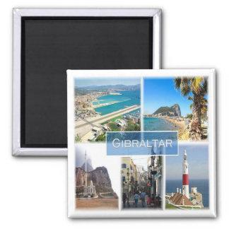 ES * Spain - Gibraltar Square Magnet