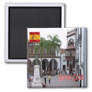 ES - Spain - La Palma - Santa Cruz Plaza de España Magnet