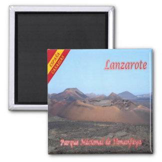 ES - Spain - Lanzarote - Timanfaya National Park Magnet
