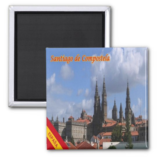 ES - Spain - Santiago de Compostela Panorama