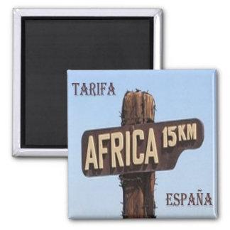 ES - Spain - Tarifa 15,oo kms Africa Magnet
