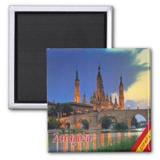 ES - Spain - Zaragoza Panorama Magnet