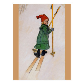 Esbjorn on Skis 1905 Postcards