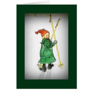 Esbjorn on Skis - Esbjorn Auf Skiern Card