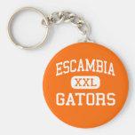 Escambia - Gators - High - Pensacola Florida Keychains