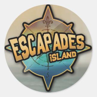 Escapades Island 2012 Stickers