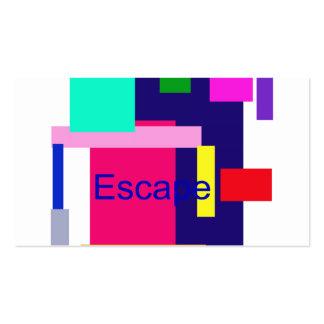 Escape Business Cards