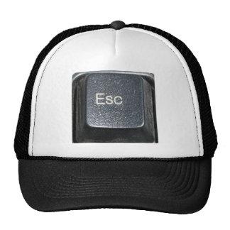 ESCAPE BUTTON MESH HAT