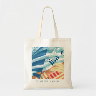 Escape French Rivier Tote Bag