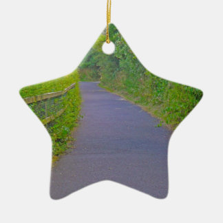 Escape route christmas ornament