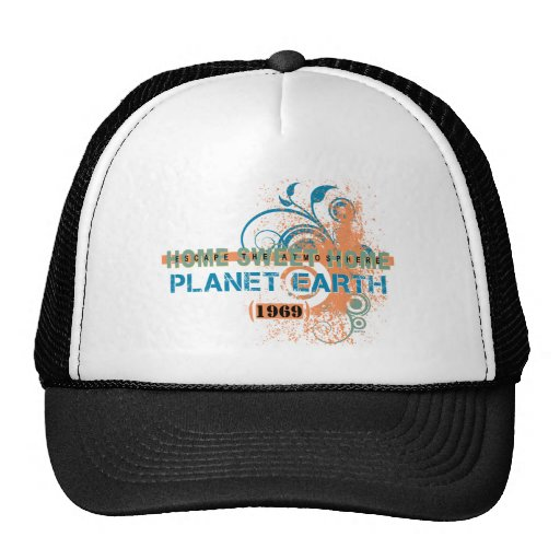 Escape The Atmosphere Trucker Hats