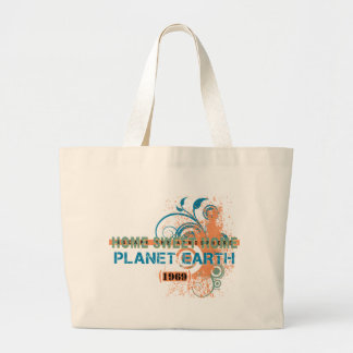 Escape The Atmosphere Jumbo Tote Bag