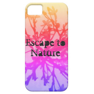 Escape to nature iPhone 5 cover