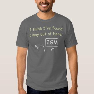 Escape Velocity Dark T-Shirt