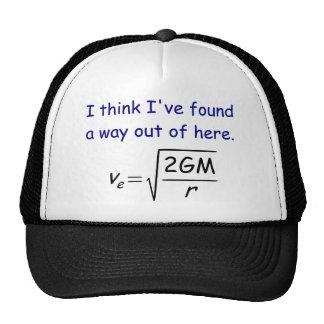 Escape Velocity Hat